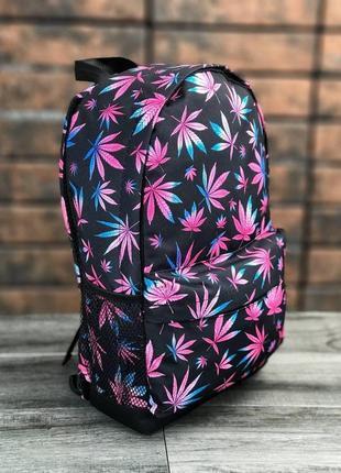 Стильный, яркий, повседневний,школьный, городской молодежный рюкзак принт