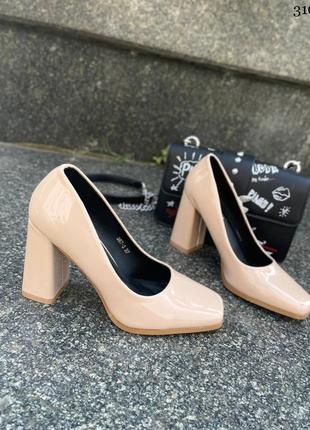Туфли женские на каблуке 👡