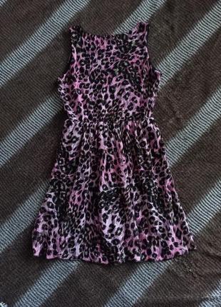 Новый сарафан/летнее платье с гипюром в принт