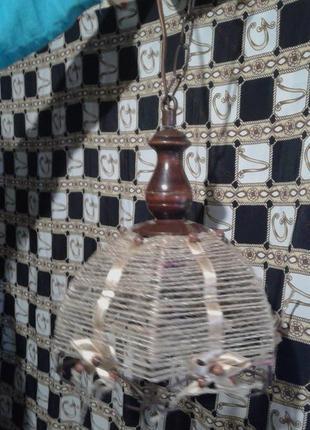 Светильник подвес -винтаж хендмейд