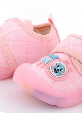 Кроссовки для девочки, розовые,16-21,киев