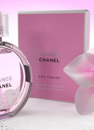 Chanel chance eau tendre оригинал_eau de toilette 5 мл затест распив отливанты