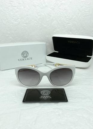 Женские солнцезащитные очки в стиле versace💥lux качество