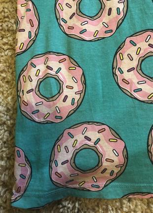 Футболка с пончиками2 фото