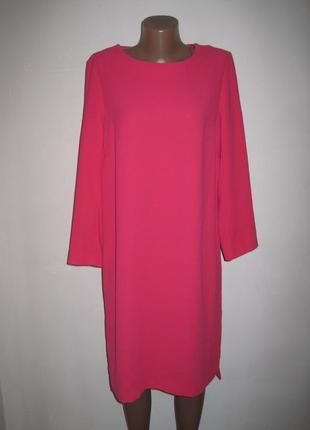 Коралловое  платье jasper conran р-р12