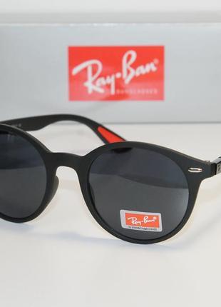 Классические солнцезащитные очки rb4296 liteforce round