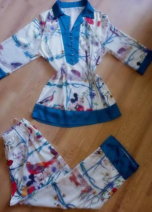 Атласная пижама!