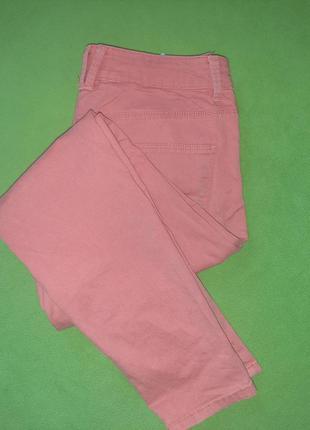 Суперовые коралловые оранжевые джинсы