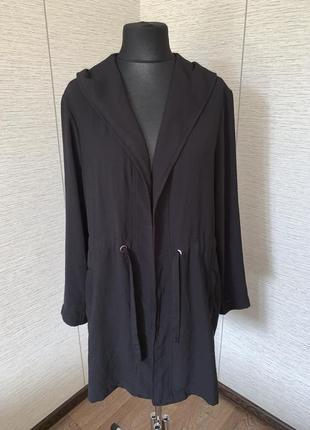 Стильний чорний кардіган з капюшоном c&a