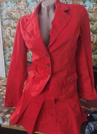 Пиджак и юбка комплект