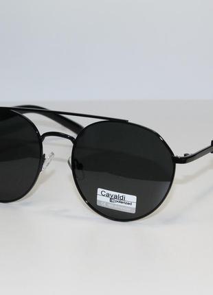 Поляризованные унисекс-очки в металлической оправе