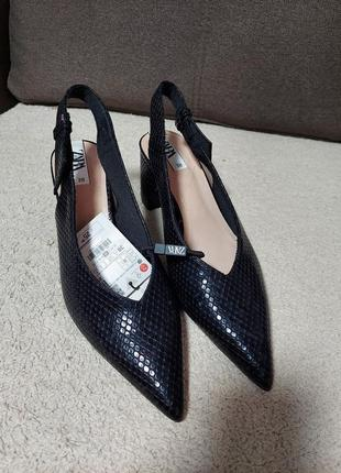 Босоножки летние туфли zara