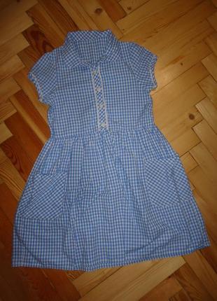 Платье в клетку pep&co