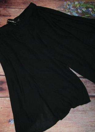 Шикарная шифоновая юбка-шорты