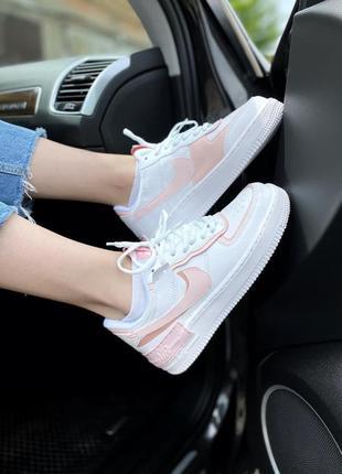 Nike air force shadow 🍏 стильные женские кроссовки найк аир форс