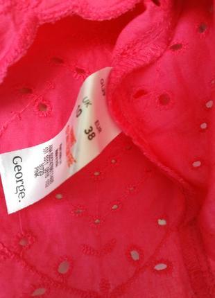 Классная хлопковая блузочка фирмы george4 фото