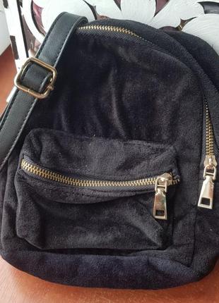Сумма рюкзак замша