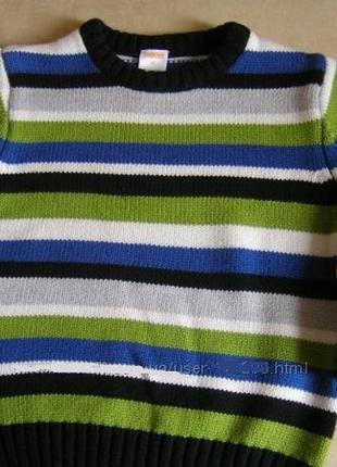 Теплый плотный свитер gymboree