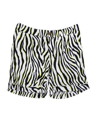 Шорты зебра женские