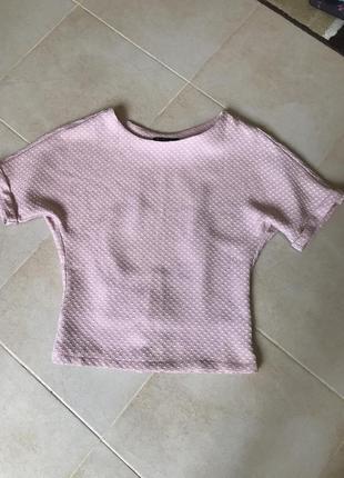 Фирменная блузка с патентом