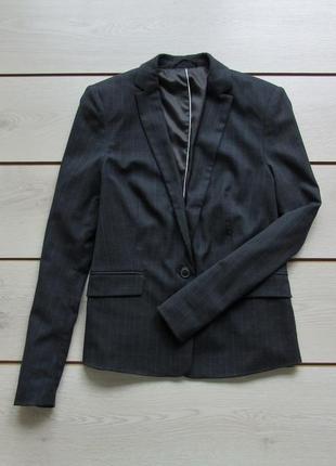 Классический пиджак блейзер в клетку от esprit