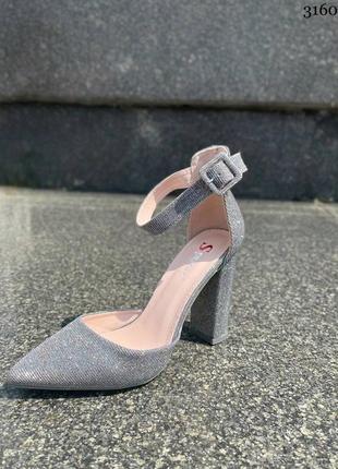 Туфли на удобном каблуке8 фото