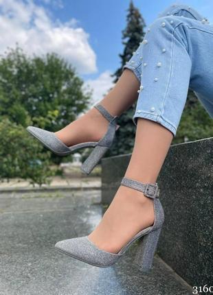 Туфли на удобном каблуке4 фото