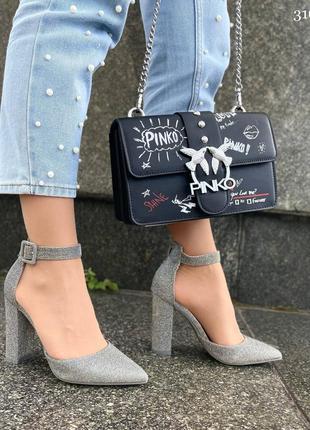 Туфли на удобном каблуке9 фото