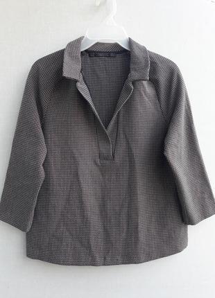 Твидовая рубашка zara