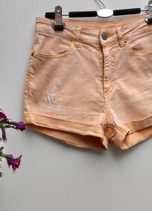 Еластичні короткі шорти denim co розмір 40 (л-99)