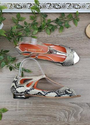 🌿37🌿европа🇪🇺 fersengold berlin. кожа. качественные фирменные туфли