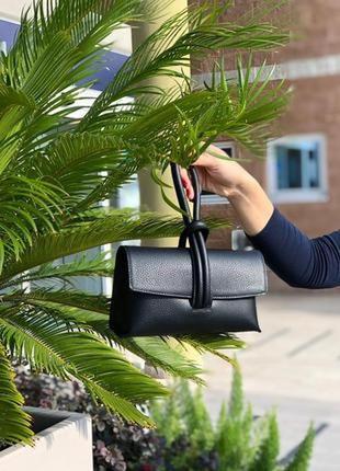Женская кожаная сумка италия клатч жіноча шкіряна сумка італія