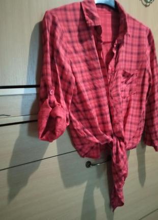 Итальянская рубашечка из вискозы