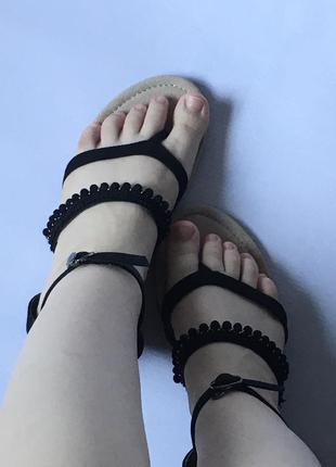 Босоножки через палец вьетнамки сандалии шлепки шлёпки шлепанцы шлёпанцы