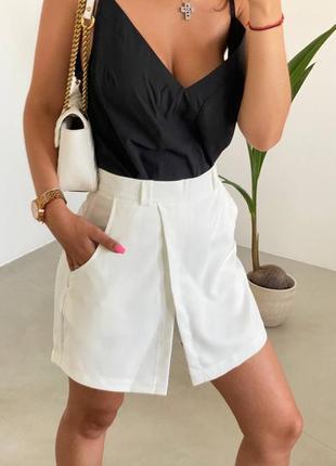 Женские шорты юбка
