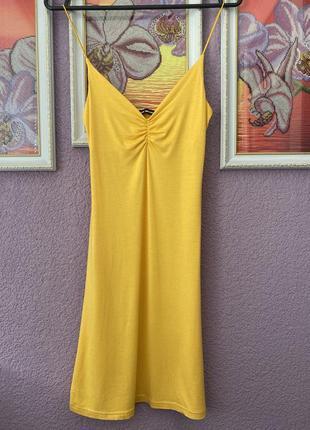 Хлопковый платье сарафан tally weijl