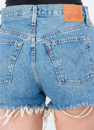 Levis 501 короткие шорты джинсовые