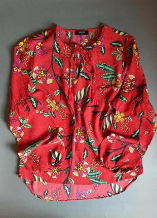 Блуза блузка цветочный принт от papaya туника