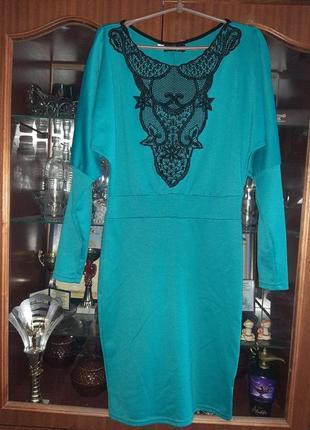 Нарядное  миди платье размер 36, s