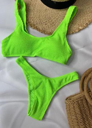 Купальник купальный костюм раздельный купальник жатка