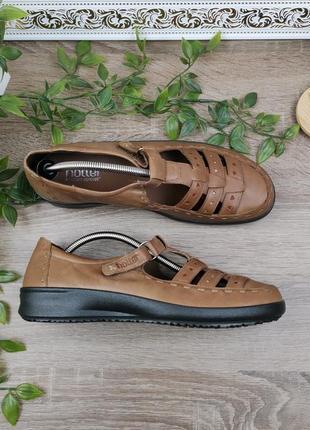 🌿38🌿европа🇪🇺 hotter. англия. кожа. качественные фирменные туфли