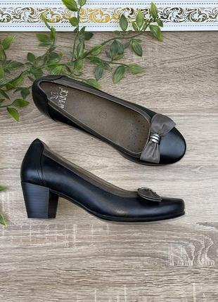 🌿38🌿 европа🇪🇺 caprisa. кожа. фирменные качественные туфли