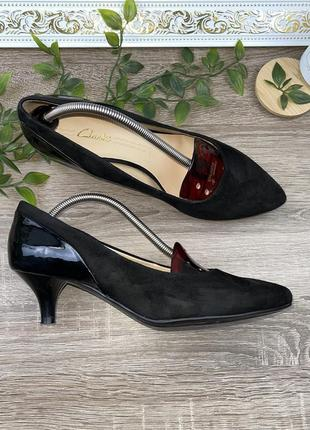 🌿38🌿 европа🇪🇺clarks. замша. классные фирменные туфли