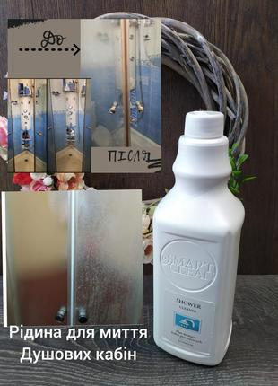 Рідина для миття душових кабін