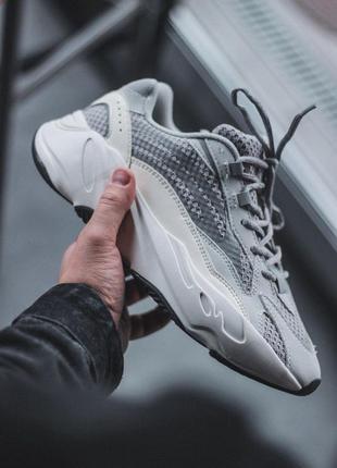 Кроссовки adidas yeezy boost 700 static