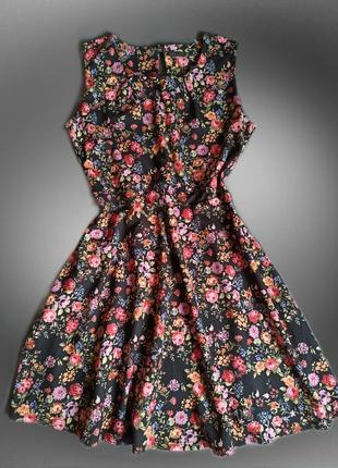 Шикарное платье в цветочный принт сукня квітковий принт