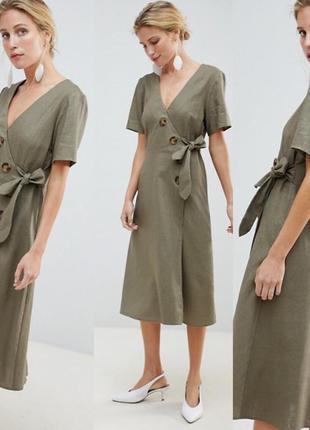 Платье на пуговицах asos