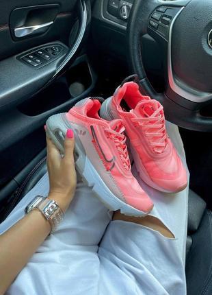 Женские кроссовки nike air max 2090 pink