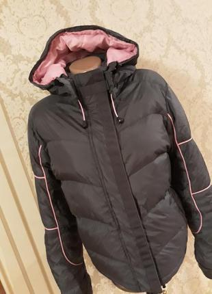 Тёплая куртка- натуральная -пуховичок  reject на 14-16 розмер германия