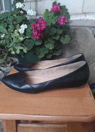 Кожаные туфли лодочки от 5tn avenue